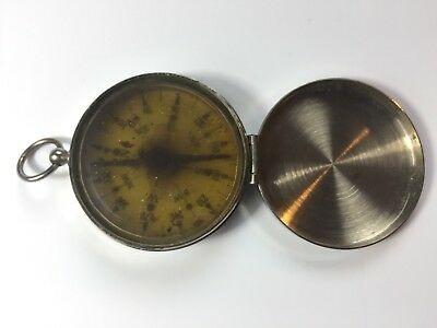 Vintage Wanderer Pocket Compass Made in Germany Clamshell Closure