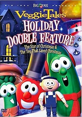 New Dvd - Veggie Tales - The Star Of Christmas + The Toy That Saved Christmas