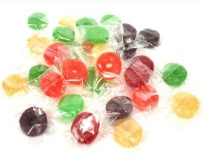 1.2kg LIFESAVERS INDIVIDUALLY WRAPPED LOLLIES BULK HARD FRUITY OFFICE FUNDRAISER