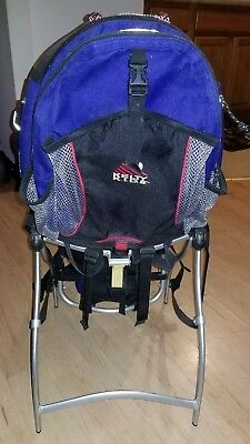 7244a96d2d7 Kelty Kids Ridgeline Camping Hiking Child Carrier w  Baby Backpack. Read !