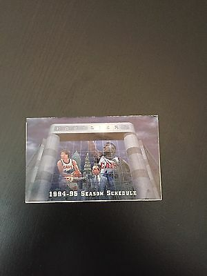 Cleveland Cavaliers 1994-95 Season Schedule - Vintage Cavs - Mark Price
