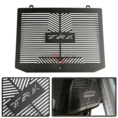 Black Motorcycle Radiator Grill Guard Cover Protector Fit Benelli TRK502 TRK 502