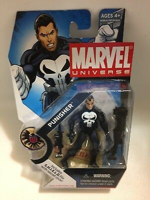 Marvel Universe - Series 1 Shield File #20 Punisher 2008 Box 6
