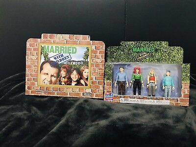 Funko NYCC 2018 Married with Children Bundy Action Figures 4-PK -In Hand-MinTy-