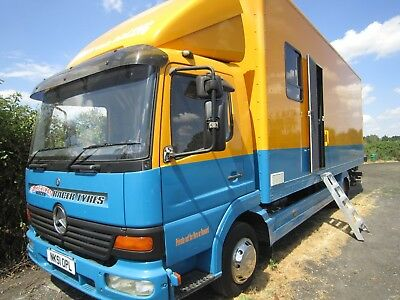 2001 Mercedes Atego 815 7.5T Race Car Transporter / Motorhome / Lorry