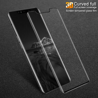 3D Curve Tempered Glass Full Screen Protector Guard Cover for Huawei Mate 20 Pro