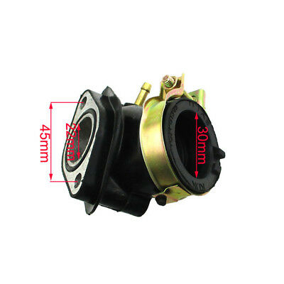 Intake Manifold Boot For GY6 125cc 150cc Scooter Moped ATV Quad Go Kart