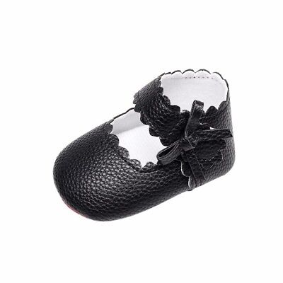 (6-12 Months, Black) - Kolylong Baby Toddler Newborn Girls Cute Shoes Soft