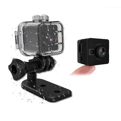 Pawaca Waterproof Mini Camera SQ12 HD Sport Action Camera Night Vision