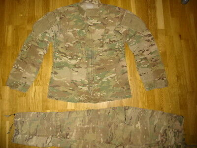 US ARMY used MULTICAM SMALL REGULAR OCP FR UNIFORM HOSE JACKE TROUSERS COAT USA