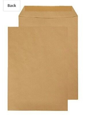 B4 Pocket Gummed Envelope 353 x 250mm - Manilla Pack of 20