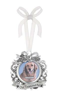 Ganz Pet Memorial Photo Ornament Christmas Holiday Picture Cat Dog New