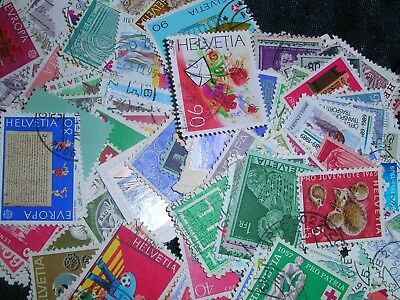 Switzerland  Postage Stamps over 100 stamps mixed  great condition
