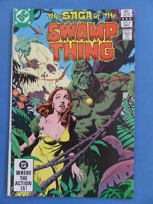 Swamp Thing 8 Yeates 1982 Vf/nm!