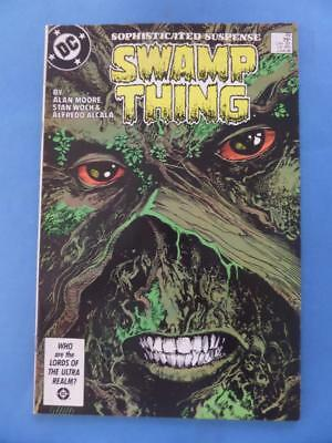 Swamp Thing 49 Classic Alan Moore 1St Justice League Dark!