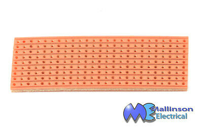 Strip Board 64 x 25 mm (225 hole) Single Board,Copper Strips, for prototyping