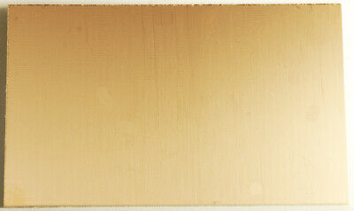 Plain Copper Clad Board - Fiberglass Backed 100mm x 160mm