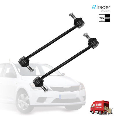 FRONT ANTI ROLL BAR DROP LINKS RODS x 2 To Fit HYUNDAI i30 LINK PAIR NEW