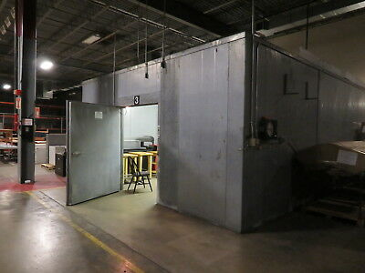 Bally Engineered Structures Model 6084-2L Walk In Cooler W/Copeland Compressors