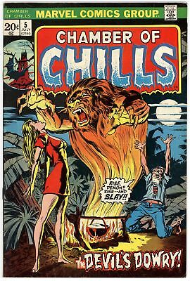 Chamber of Chills (1972) #5 VF 8.0