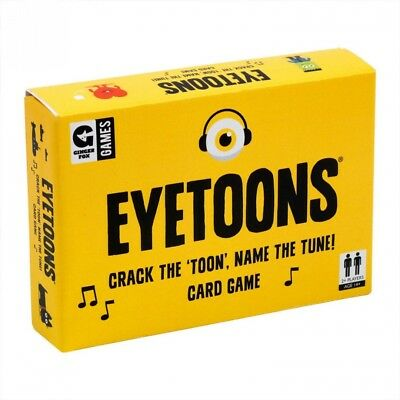 Ginger Fox Eyetoons Card Game 8014998. Shipping is Free