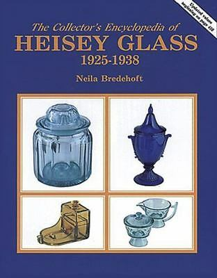Heisey Glass Collector's Encyclopedia of 1925-1938 by Neila Bredehoft 1986