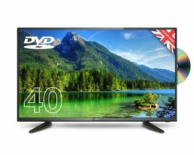 """CELLO 40"""" inch LED TV & DVD FREEVIEW HD 1080P FULL HD 3 HDMI & USB MADE IN UK"""