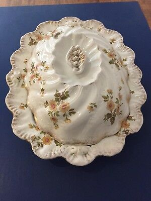 "Vintage Royal Semi-Porcelain Ridgways ""Hyde"" Pattern Meat Serving Dish"