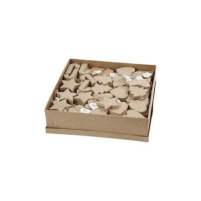 Christmas Ornaments, H: 7-8 cm, 174pcs [HOB-26702]