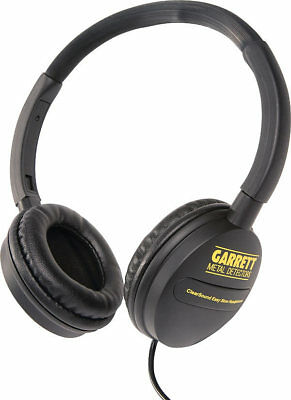 GARRETT ClearSound Easy Stow Headphones with In-Line Volume Control