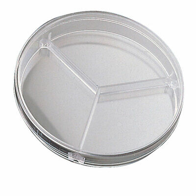 Medline 90mm Triple Compartment Petri Dishes - Pack of 20