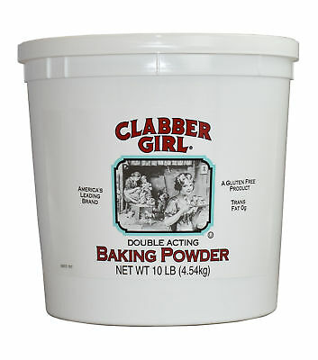 Clabber Girl Double Acting Baking Powder Case 10lbs (PACK OF 4)