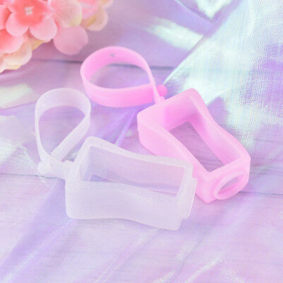 Cute Silicone Hand Sanitizer Holders Mini Refillable Bottles Portable Travel RH