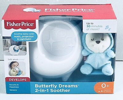 Fisher-Price Baby Butterfly Dreams Sound Machine Soother Nightlight Projector