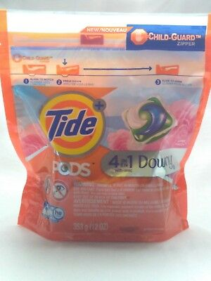 Tide 4-in-1 Downy Pods, April Fresh, 12oz 🔥
