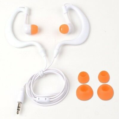 (white) - Y & M(TM)Waterproof Earphone,100% Waterproof Headphones Underwater
