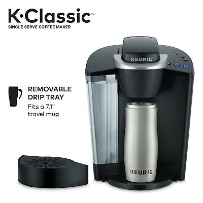 Keurig K50 Coffee Maker Black Kitchen Appliance Single Serve 48oz Brewer