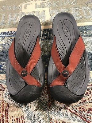 75177487678f Keen Men s Waimea H2 Water Beach Outdoor Protected Toe Thong Comfort Sandals  11M