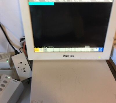 Phillips Intellivue Mp90 M8010A Patient Monitor System