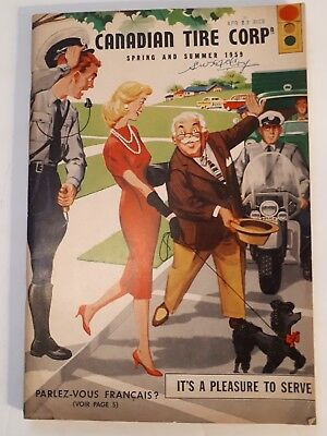 """Rare Canadian """"canadian Tire Corp. 1959 Spring & Summer Catalogue - Excellent"""