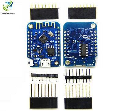 Wemos D1 Mini ESP8266 CH340G V3.0.0 WIFI Internet Development Board For Arduino