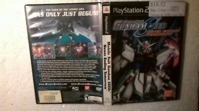 PS2 Mobile Suit Gundam Seed Never Ending Tomorrow PlayStation 2 used video game