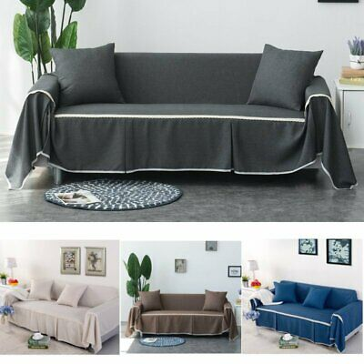 1/2/3/4 Seater Home Lounge Recliner Sofa Cover Couch Dining Chair Protector New