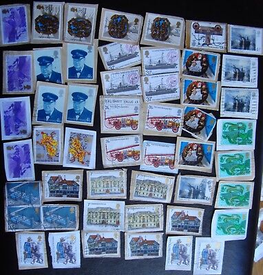GB QEII Machin 1994 & 1995 Commemorative stamps ~ used, on paper