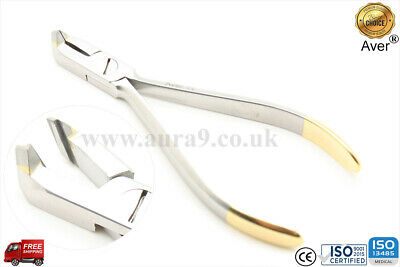 "Orthodontic Distal End Cutter Micro TC Plier wire up to a maximum of .021""x.025"""