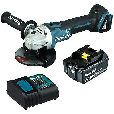 "Makita 18V Battery 3ah  Brushless Angle Grinder 125MM (5"") Combo Kit - Au Stock"