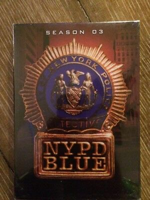 """NYPD Blue ~ Complete 3rd Third Season 03 (DVD 4-DISC) """"NEW, SEALED"""""""