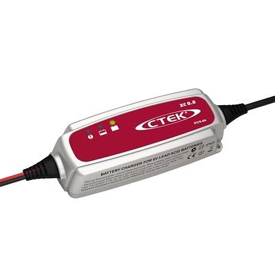 CTEK XC 0.8 GB 4 Stage 6v 0.8A Trickle Charge Battery Charger 5 Year Warranty