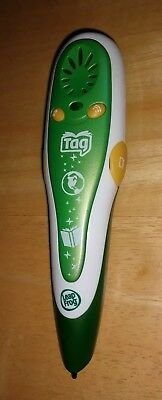 Leap Frog Tag Reader Stylus Talking Pen Green & White N2390 #20800