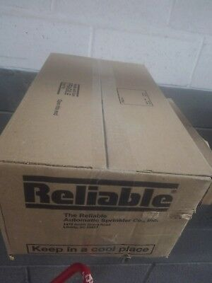 100 unopened box Reliable F156 UPRIGHT 155 F56U1B Fire SPRINKLER HEAD